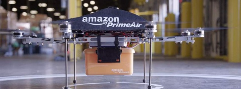 你知道亚马逊可能把包裹空运到家吗?